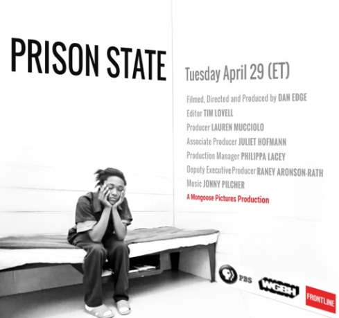 Prison State airs tomorrow on PBS!